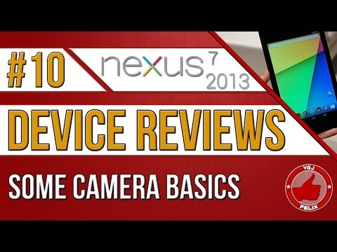 how to use the camera on a nexus 7