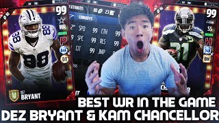 WE GET AS MOST HAVE BEEN SAYING THE BEST WR CARD IN THE GAME TIED WITH OBJ ALONGSIDE 99 OVR KAM CHANCELLOR! WE TEST THEM 3 IN THREE GAMES AFTER PACKS!Like, comment, SUBSCRIBE!FOLLOW MY LIFE HERE:https://www.twitter.com/KayKayEssshttps://www.instagram.com/KayKayEs