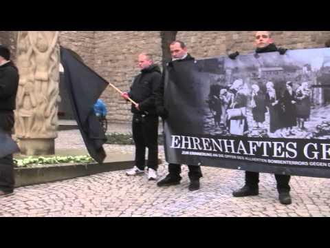 NPD Thüringen / 03.04.2013 – Gedenkkundgebung anlässlich der Bombardierung Nordhausens vor 68 Jahren