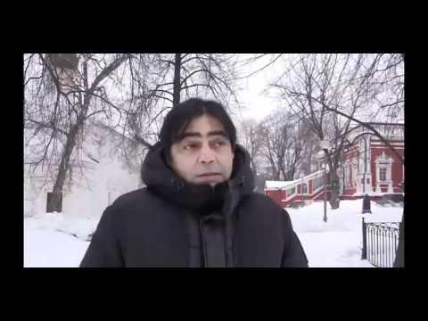 Atolou na neve em Moscou