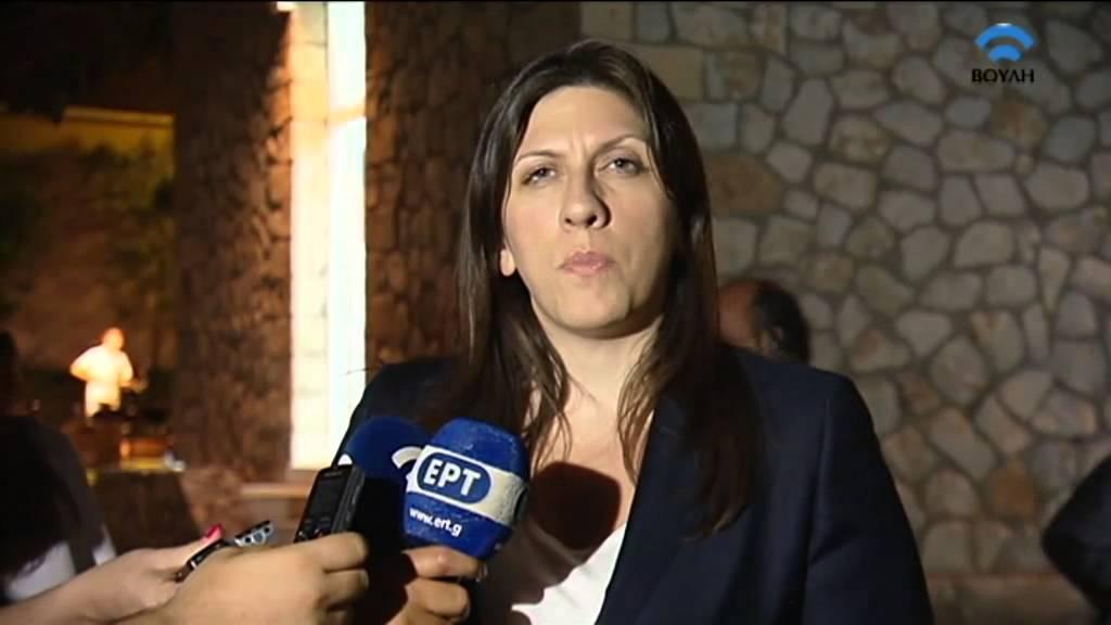 Δηλώσεις της Προέδρου της Βουλής στην εκδήλωση μνήμης στο ΕΑΤ-ΕΣΑ (23/07/10