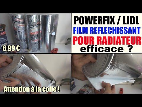 film r fl chissant pour radiateur powerfix lidl conomie d 39 energie. Black Bedroom Furniture Sets. Home Design Ideas