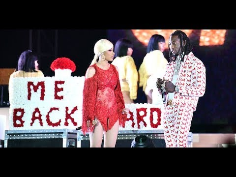 Offset Gets Played By Cardi B After He INTERRUPTS Her On Stage Unexpectedly!!
