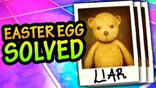 The mystery of the teddy bear mugshots Zombies in Spaceland Easter Egg in Infinite Warfare Zombies has now been solved! Teddy bear mugshot locations: - Un...
