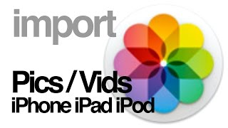 Download Lagu How to import pictures videos from iPhone iPad iPod to PHOTOS app mac Mp3
