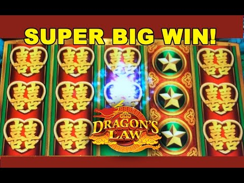 SUPER BIG WIN! - Dragon's Law - Slot Machine Bonus