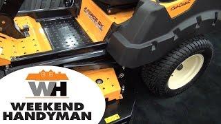 8. Cub Cadet Z Force SX Zero Turn Mower | Weekend Handyman | #Cub_Cadet