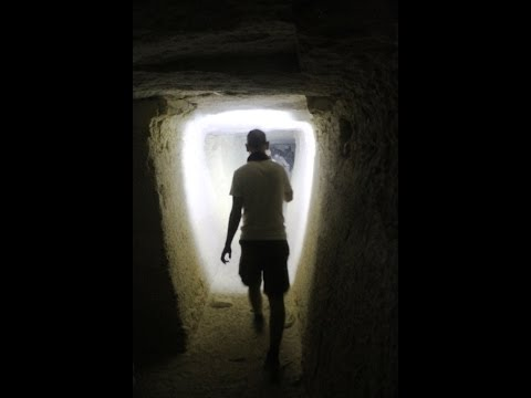 Ancient Egypt: Exploring Tunnels Under The Sands Of Saqqara