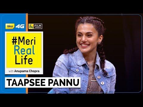 Meri Real Life | Taapsee Pannu | Idea 4G | Film Companion | Anupama Chopra