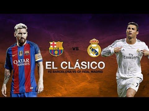 El clasico Real Madrid vs Barcelona 0-3 ⚫ All Goals Highlights HD ⚫ 23 Dec 2017 ⚫ La Liga