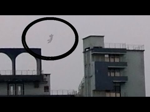 Ghost caught jumping from cricket stadium ! Ghost Sightings Caught on Tape