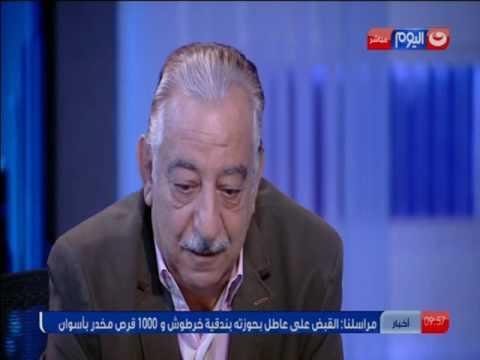 شاهد- أحمد راتب باكيا على صورة السيسي: غصب عني عيوني دمعت ربنا يحميك