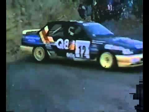 rally di montecarlo 1991- momenti migliori!
