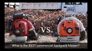 6. Stihl BR700 vs Red Max EBZ8500 , The BEST Leaf Blower