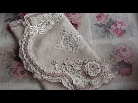 Peter Wall Hanging and Lace Pocket Pouch (видео)