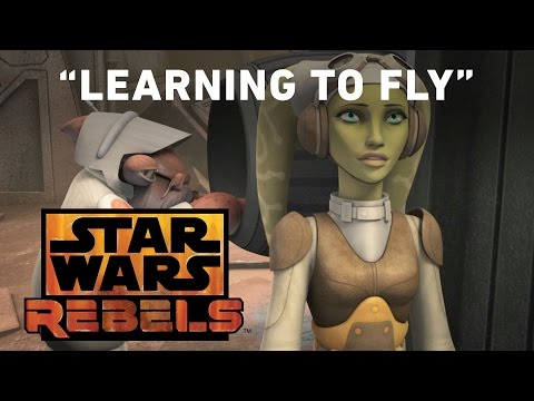 Star Wars Rebels 2.07 (Clip 'Learning to Fly')