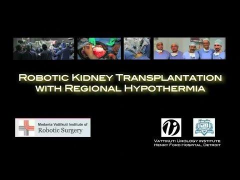 Robotic Kidney Transplantation with Regional Hypothermia