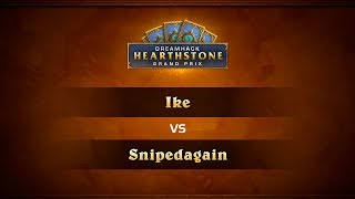 IKE vs SnipedAgain, game 1
