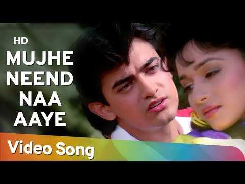 Download Mujhe Neend Na Aaye (HD) | Dil (1990) Song | Aamir Khan | Madhuri Dixit | 90's Romantic Song HD Mp4 3GP Video and MP3