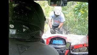 6. Muddy Ride Part 2 - CFMoto ZForce 500 with 2 ATVs