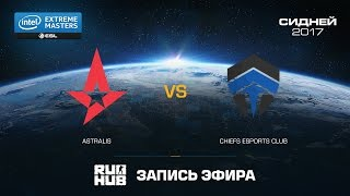 Astralis vs Chiefs, game 1