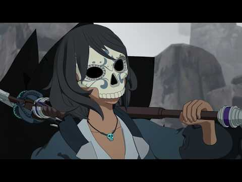 Rwby - Maria Calavera Vs Tock & Nevermore || Maria's Backstory (full Fight Scene) [1080p]