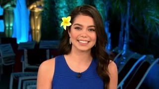 Oscars 2017: Moana Star Auli'i Cravalho Interview on her Oscars Performance Video