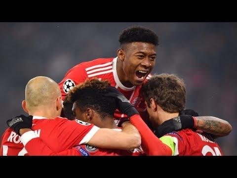 Bayern München vs Besiktas 5- 0 All Goals & Highlights 20-2-2018