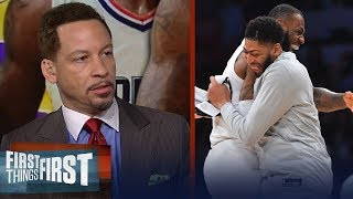 LeBron and AD will win a championship within the next 2 yrs - Broussard | NBA | FIRST THINGS FIRST