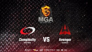 compLexity vs AVANGAR - MSI MGA Grand Final - de_dust2 [Crystalmay, Smile]