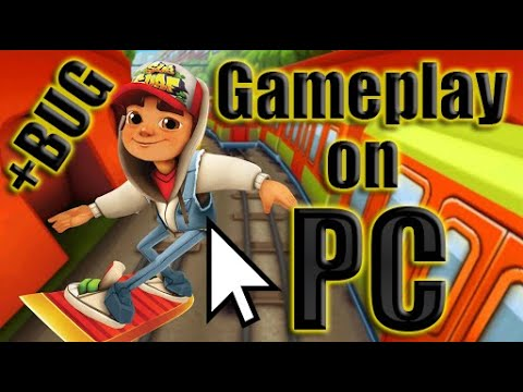 Subway Surfers Gameplay on PC | My record is 732355 (видео)