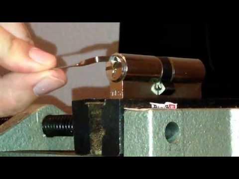 Schloss öffnen (Schließzylinder auf vier verschieden Arten öffnen)
