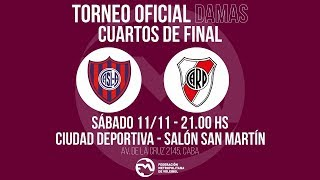 DHF | Cuartos de Final: San Lorenzo vs. River Plate #MetroVoley