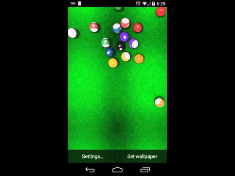 Video of KF Billiards Live Wallpaper