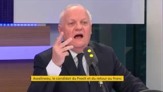 """Video Présidentielle : François Asselineau prédit """"l'explosion de l'euro quel que soit le président élu"""" MP3, 3GP, MP4, WEBM, AVI, FLV Agustus 2017"""