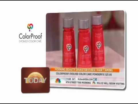 ColorProof Hair, The Today Show 2012