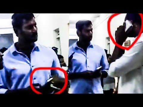 #Breaking: RK Nagar Election - Vishal's Phone Conversation Leaked Video - Nomination Accepted