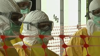 Training To Help Ebola Patients In West Africa