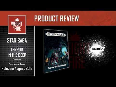 Mantic Games: Star Saga - Terror in the Deep Expansion review