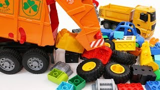 Video Learn Vehicles with Garbage Truck, Construction Trucks and Toy Cars for Kids MP3, 3GP, MP4, WEBM, AVI, FLV Maret 2019