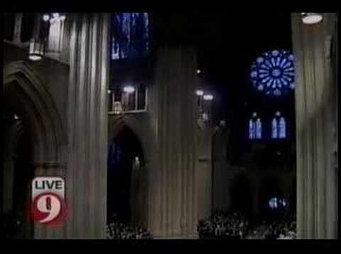 Katharine Graham Funeral:  St. Anne