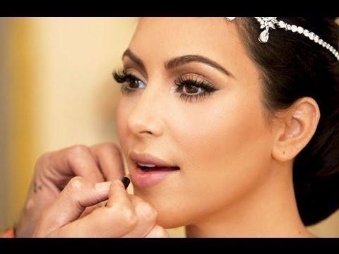 Kim Kardashian | Maquillaje de novia - Bridal makeup