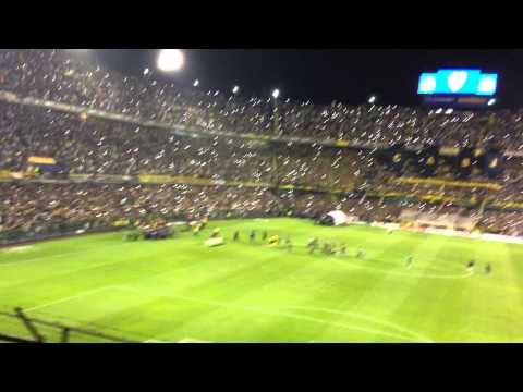 Video - Recibimiento a boca juniors vs Cerro porteño sudamericana 2014 - La 12 - Boca Juniors - Argentina
