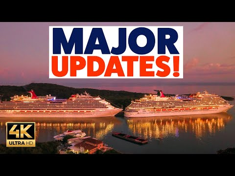 MEGA CRUISE UPDATE: Carnival, Royal Caribbean, P&O and MUCH MORE!!