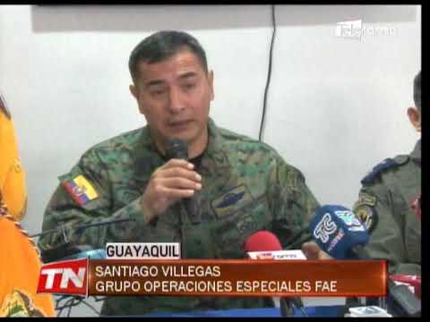 Ocupantes del helicóptero accidentado en la Isla Santay fueron hallados vivos