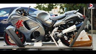 1. 2019 Suzuki Hayabusa Unboxing Metallic Gray #Bikes@Dinos