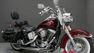 2. 2001  HARLEY DAVIDSON  FLSTCI HERITAGE SOFTAIL CLASSIC  - National Powersports Distributors