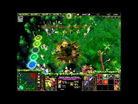 วิธีออกของ ซื้อของ dota / Warcraft III Part.3