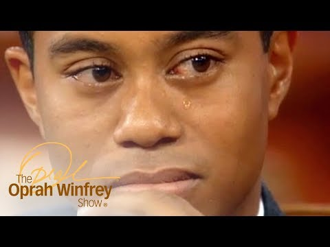 Tiger Woods Tears Up Upon Hearing His Father's Letter | The Oprah Winfrey Show | OWN
