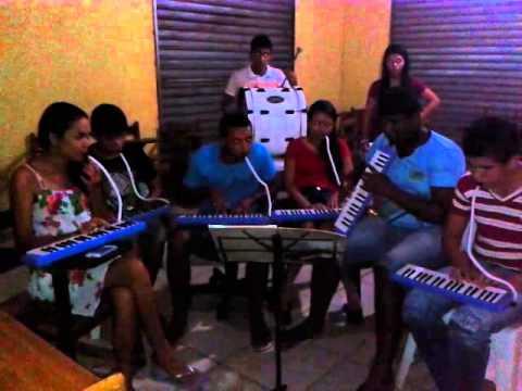 Projeto Musicando- Nova Esperança do Piria- 1° ensaio